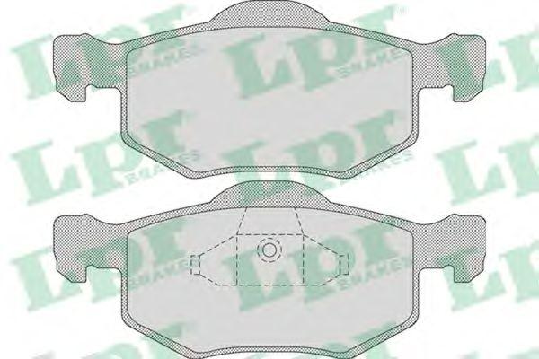 Тормозные колодки LPR 05P1091