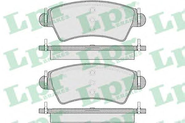 Тормозные колодки LPR 05P1105