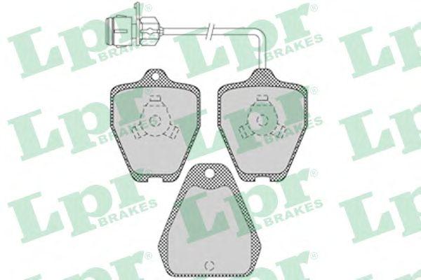 Тормозные колодки LPR 05P1118