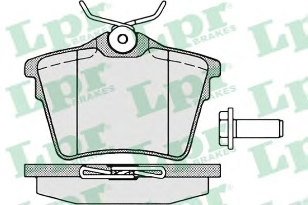 Тормозные колодки LPR 05P1195
