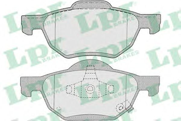 Тормозные колодки LPR 05P1211