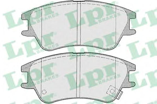 Тормозные колодки LPR 05P1212