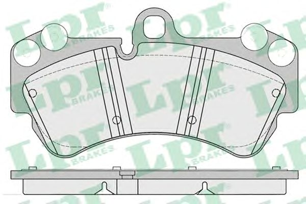 Тормозные колодки LPR 05P1226