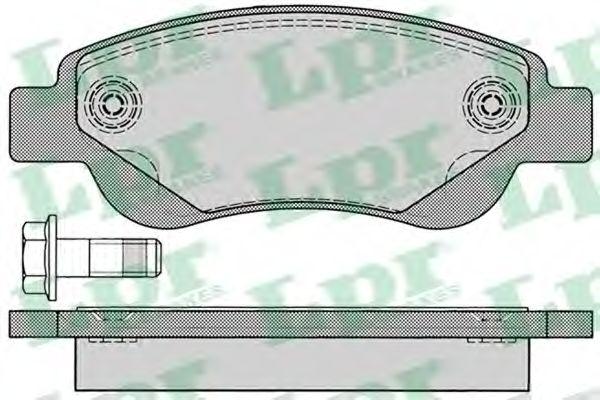 Тормозные колодки LPR 05P1235
