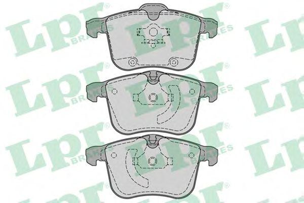 Тормозные колодки LPR 05P1244