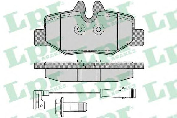 Тормозные колодки LPR 05P1246