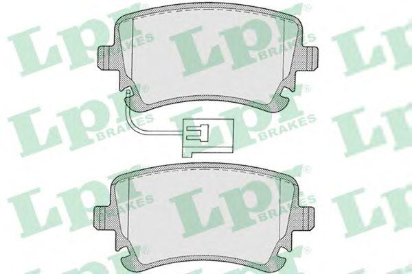 Тормозные колодки LPR 05P1256