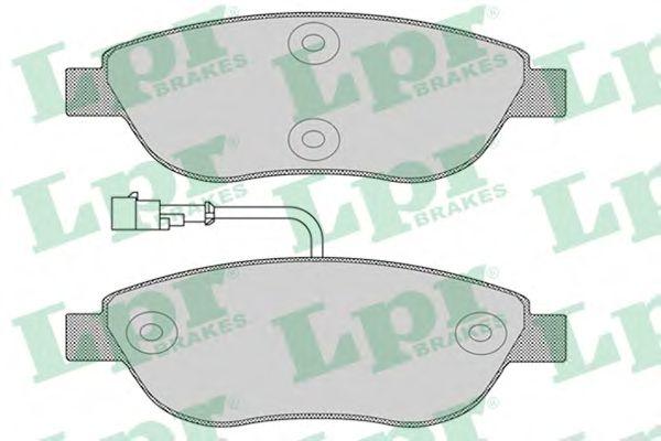 Тормозные колодки LPR 05P1268