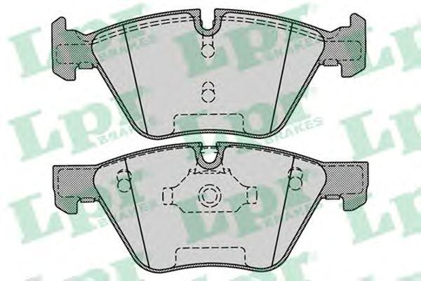 Тормозные колодки LPR 05P1271