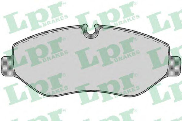 Тормозные колодки LPR 05P1275