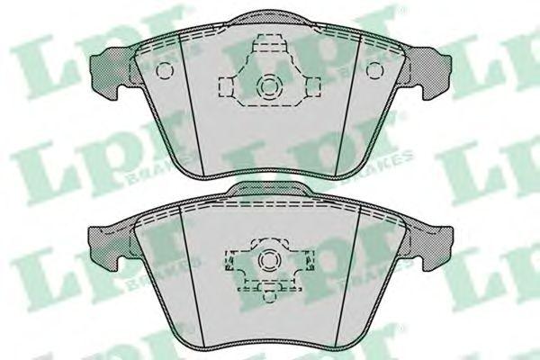 Тормозные колодки LPR 05P1277