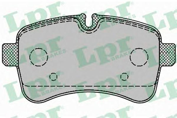 Тормозные колодки LPR 05P1296