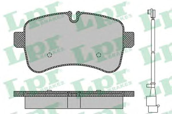 Тормозные колодки LPR 05P1296A