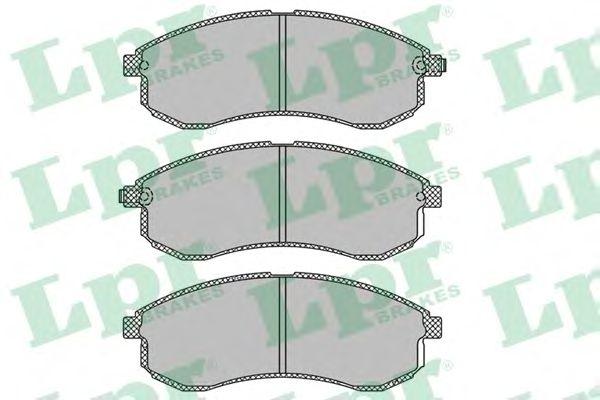 Тормозные колодки LPR 05P1334