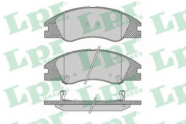Тормозные колодки LPR 05P1349
