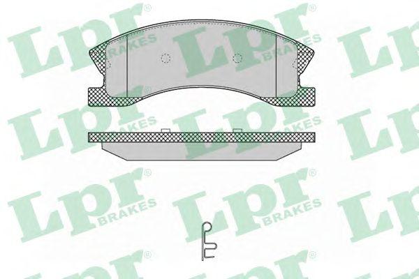 Тормозные колодки LPR 05P1365