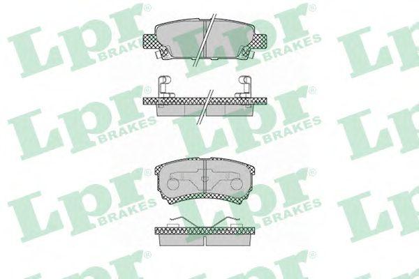 Тормозные колодки LPR 05P1373