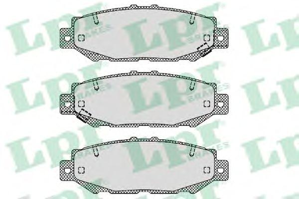 Тормозные колодки LPR 05P1385