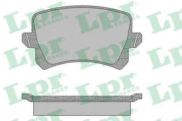 Тормозные колодки LPR 05P1390