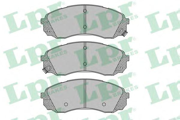 Тормозные колодки LPR 05P1451