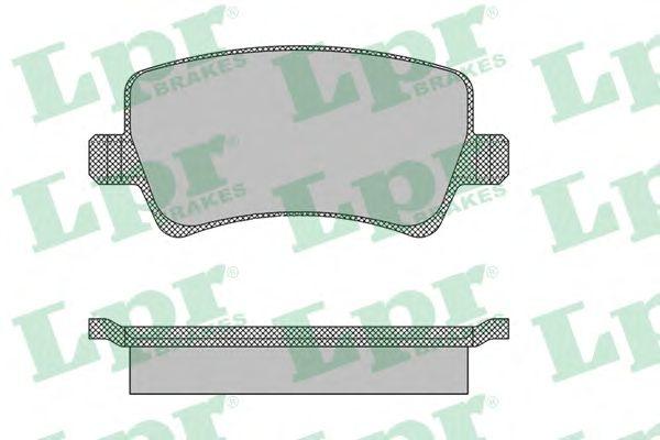 Тормозные колодки LPR 05P1474