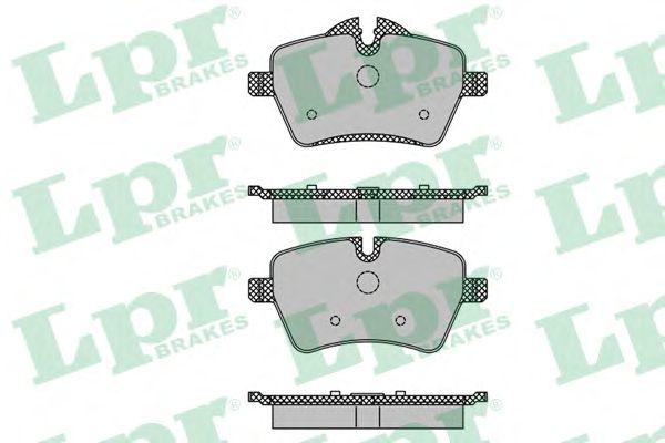 Тормозные колодки LPR 05P1485