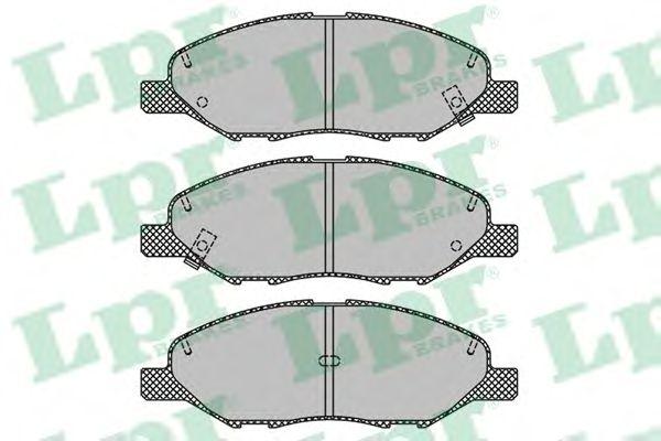 Тормозные колодки LPR 05P1497