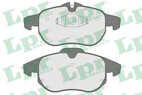 Тормозные колодки LPR 05P1524