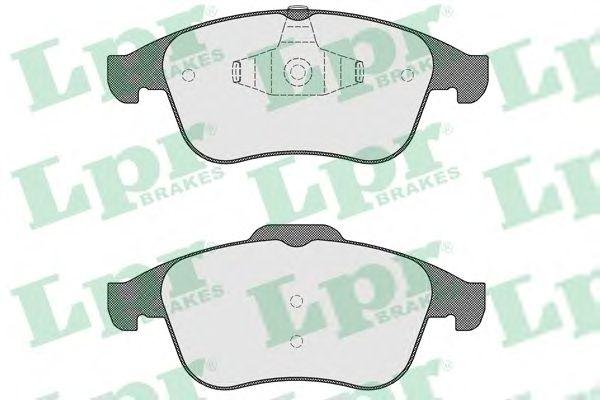Тормозные колодки LPR 05P1534