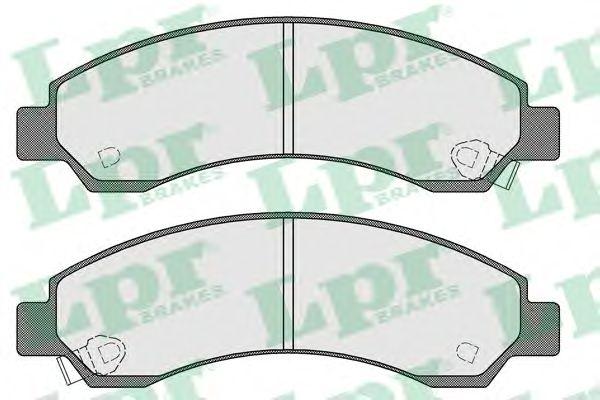 Тормозные колодки LPR 05P1568