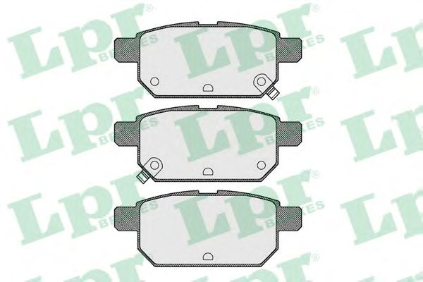 Тормозные колодки LPR 05P1571