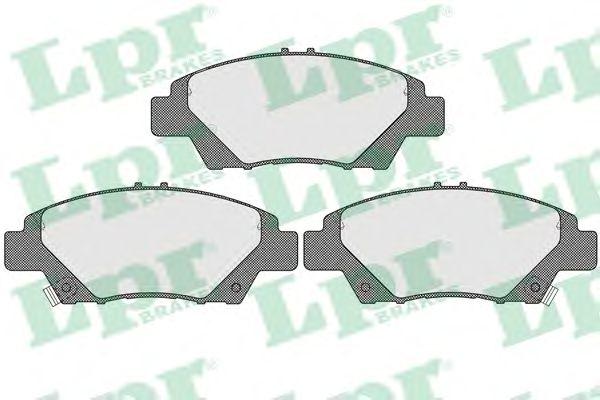 Тормозные колодки LPR 05P1591