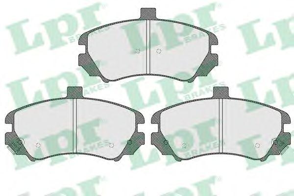 Тормозные колодки LPR 05P1609