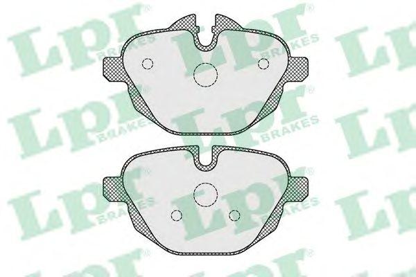Тормозные колодки LPR 05P1618