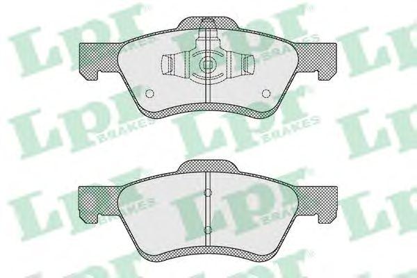 Тормозные колодки LPR 05P1622