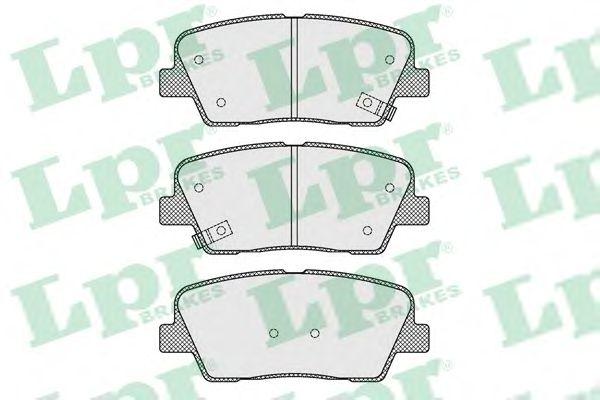 Тормозные колодки LPR 05P1625