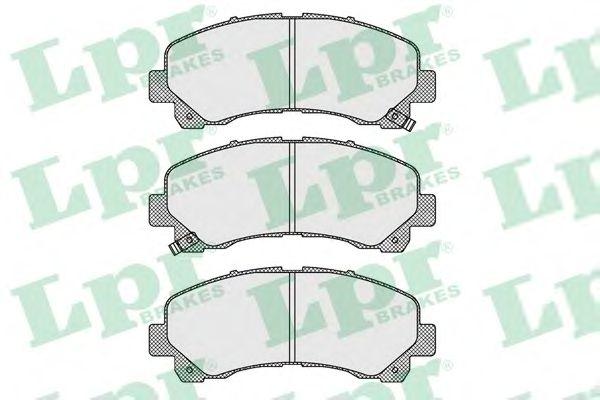 Тормозные колодки LPR 05P1630
