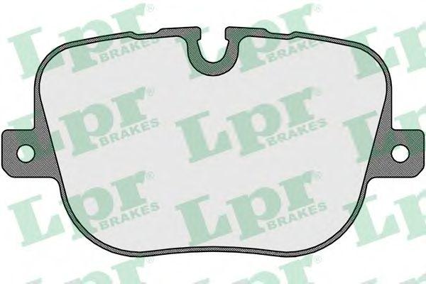 Тормозные колодки LPR 05P1652