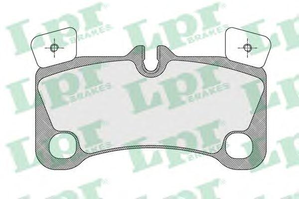 Тормозные колодки LPR 05P1655