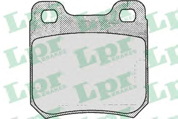 Тормозные колодки LPR 05P206