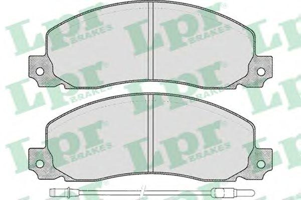Тормозные колодки LPR 05P278