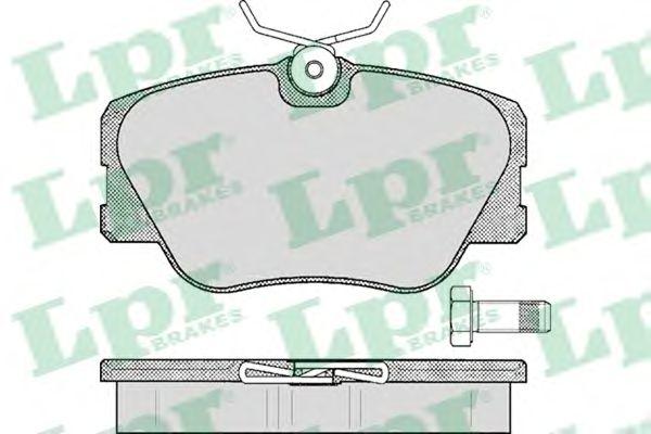 Тормозные колодки LPR 05P280