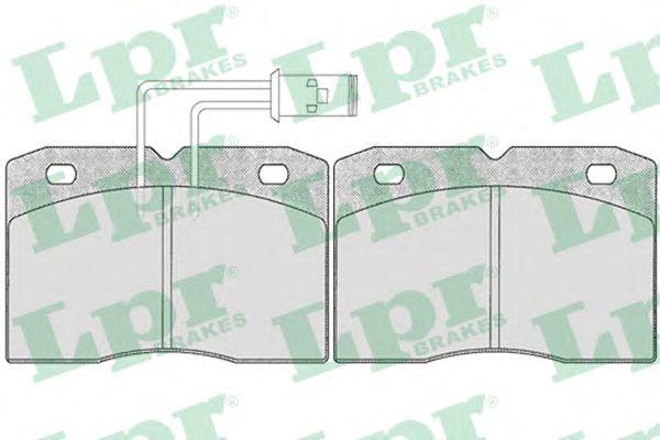 Тормозные колодки LPR 05P281