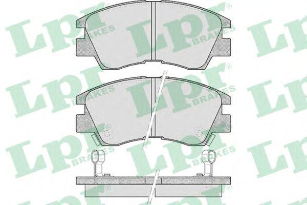 Тормозные колодки LPR 05P315