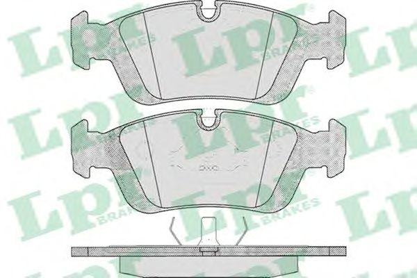 Тормозные колодки LPR 05P331