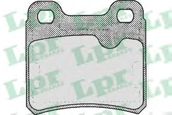 Тормозные колодки LPR 05P333