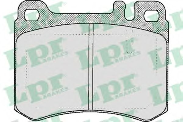 Тормозные колодки LPR 05P361