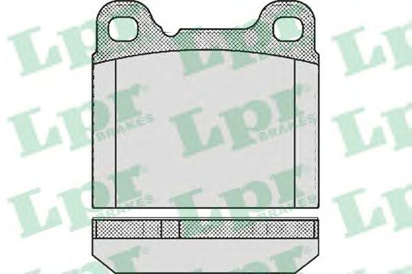 Тормозные колодки LPR 05P362