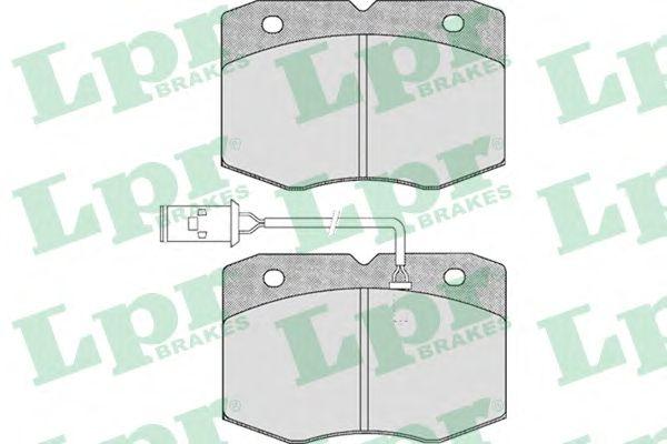 Тормозные колодки LPR 05P388