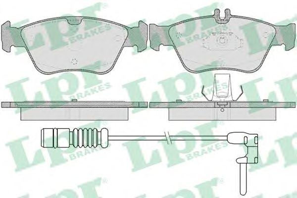 Тормозные колодки LPR 05P409A